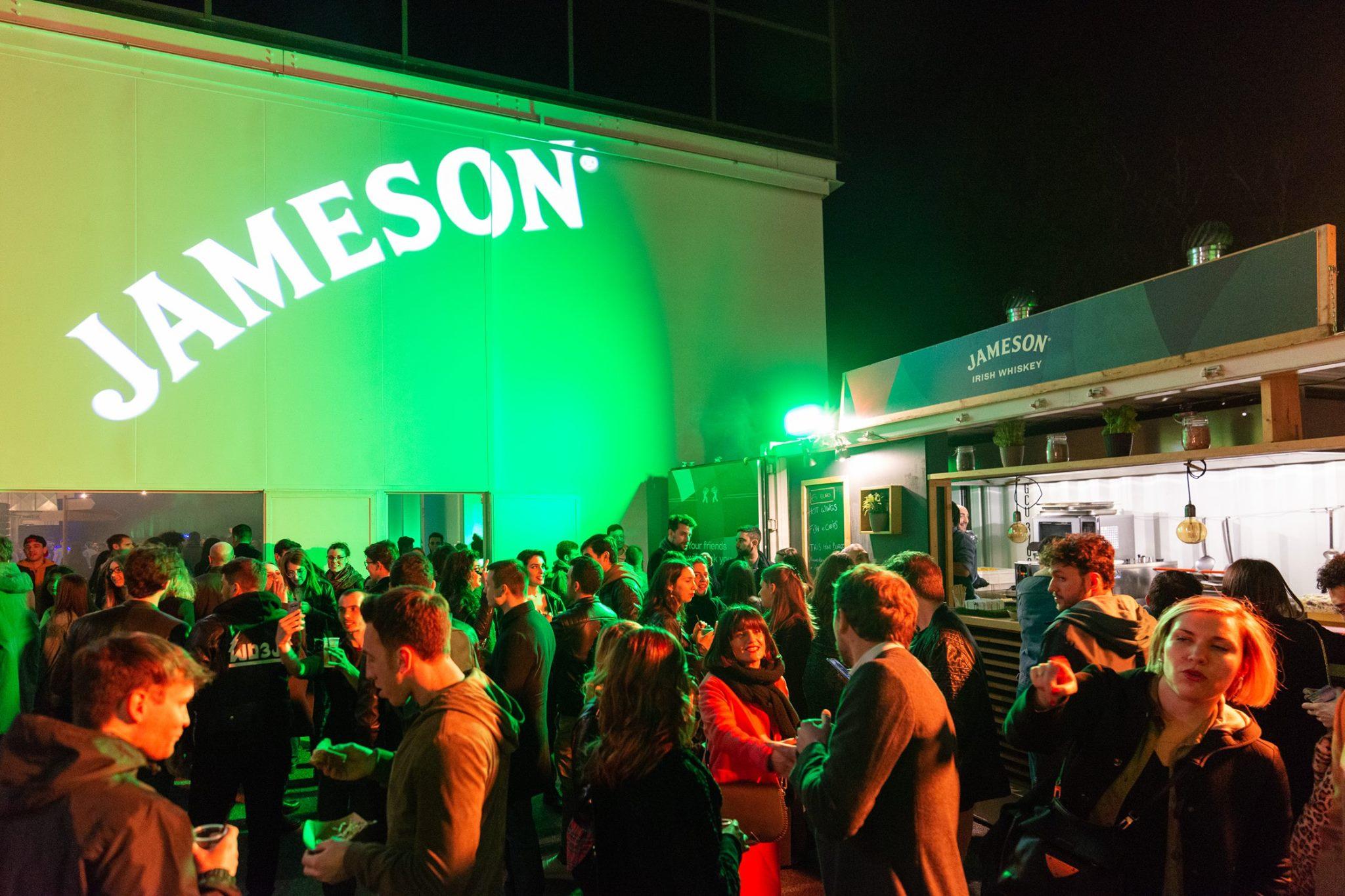 JAMESON IRISH WHISKEY ST. PATRICK'S NIGHT | YOUparti superstudio via corsico