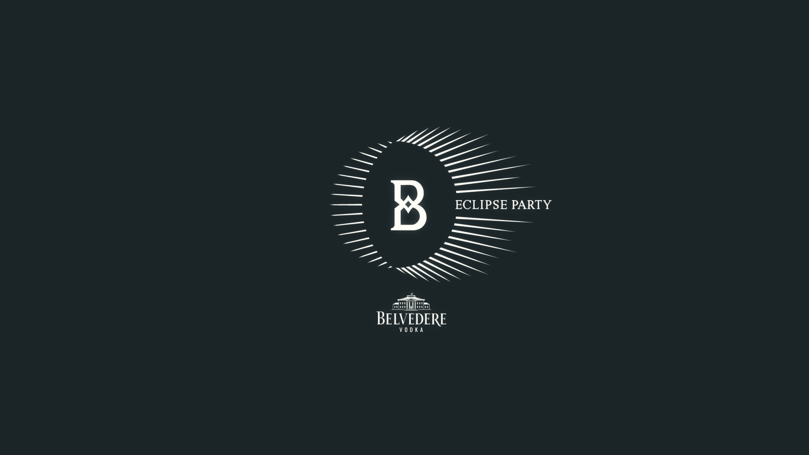 Belvedere Eclipse Official Party Design Week | YOUparti MDW circle free gratis friday venerdì
