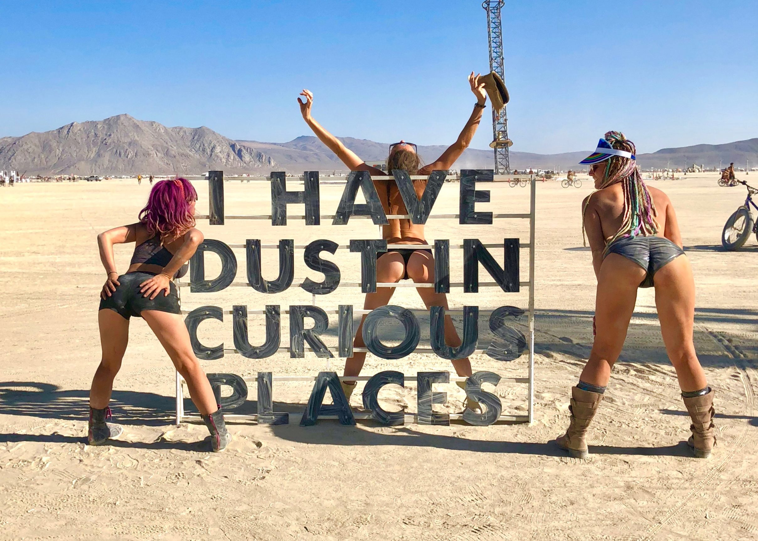 Burning Man dichiara guerra agli influencer