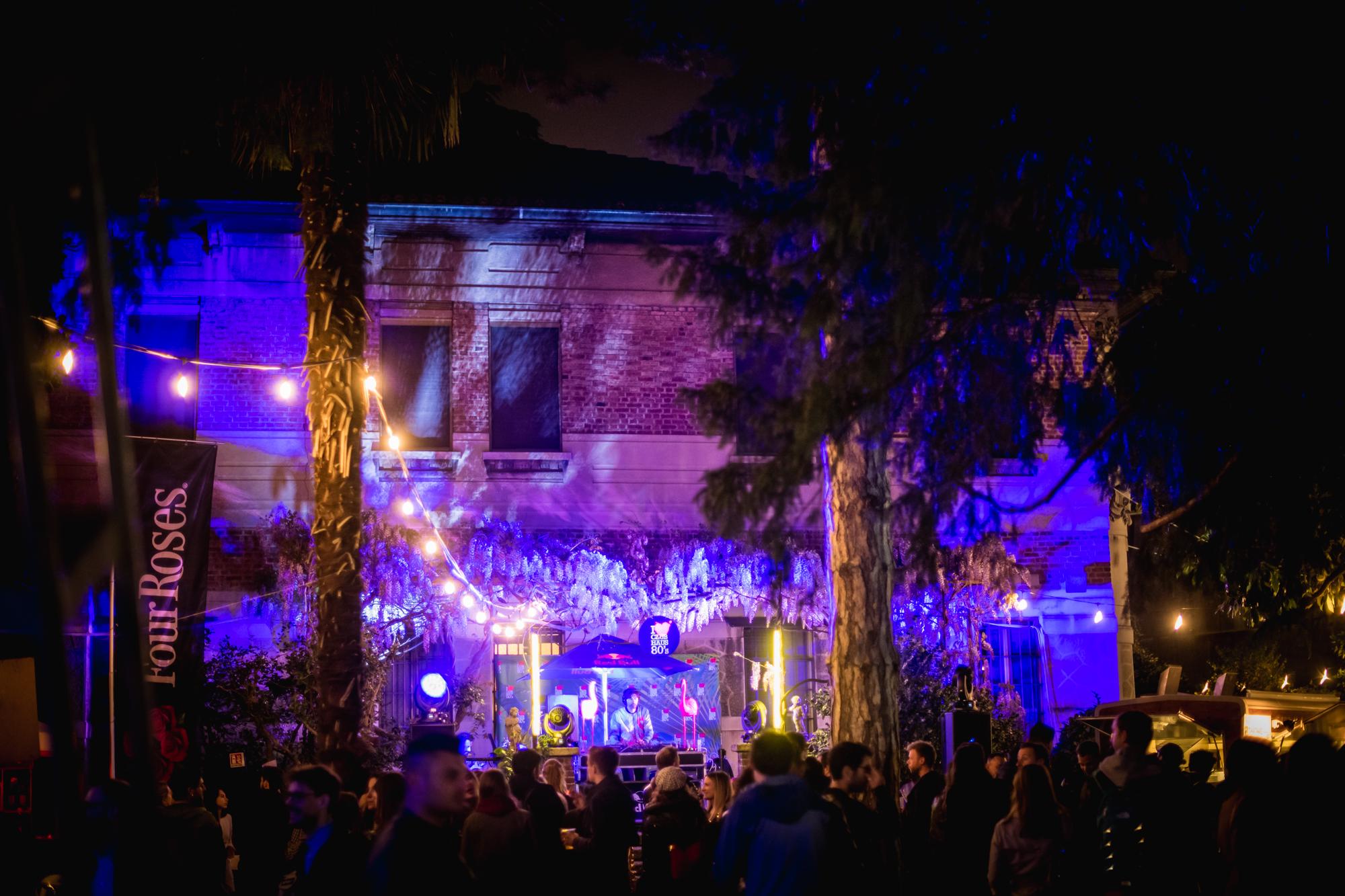 Club Haus 80's Giardino Segreto Lambrate • Design Week | YOUparti ventura milan design week mdw