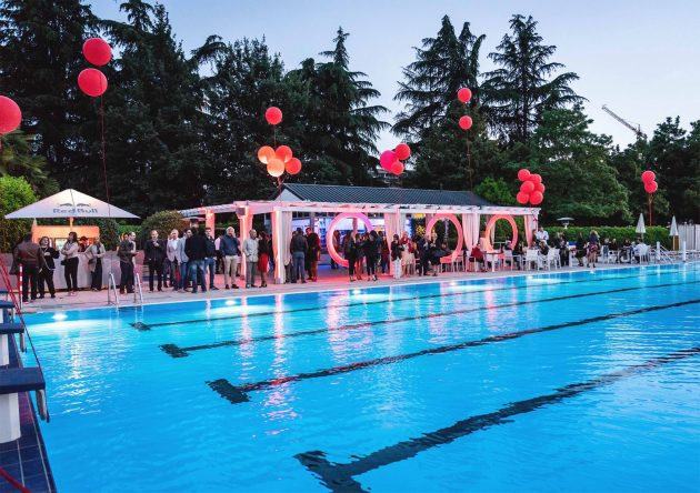 Big Pool Party - Rouge Carrousel powered by Red Bull   YOUparti Harbour Club Aspria Milano
