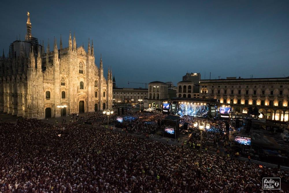 Concerto Radio Italia a Milano: sul palco in Duomo anche Ligabue youparti