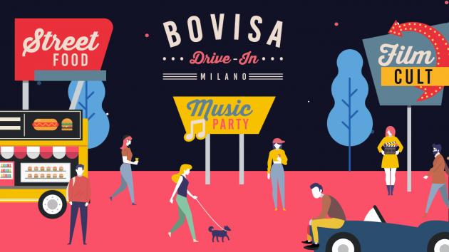 Inaugurazione Bovisa Drive-In / Dj Set, Street Food & Cinema | YOUparti