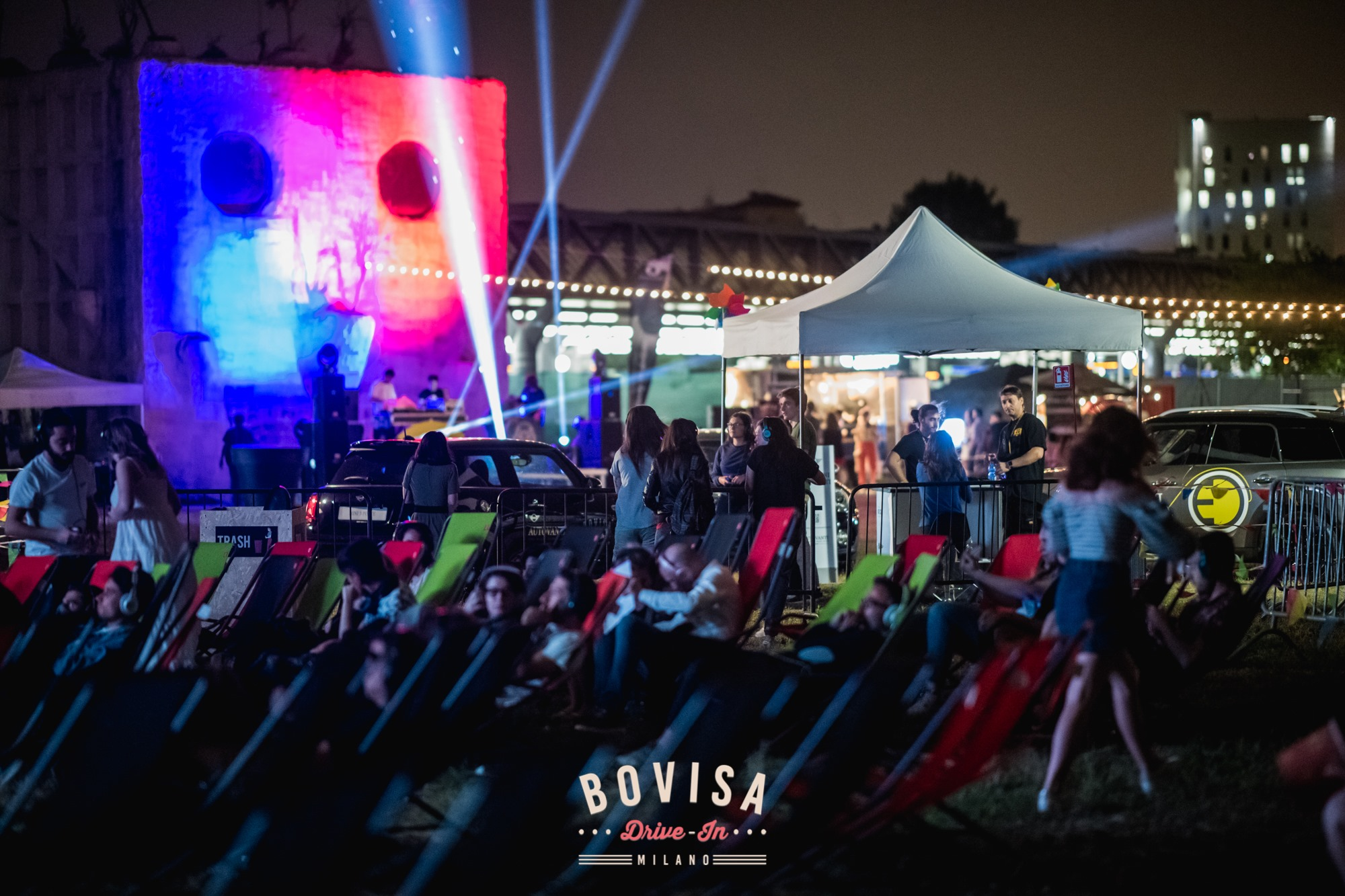 BOVISA DRIVE-IN / Dj Set, Street Food & Cinema / Let's Dance milano