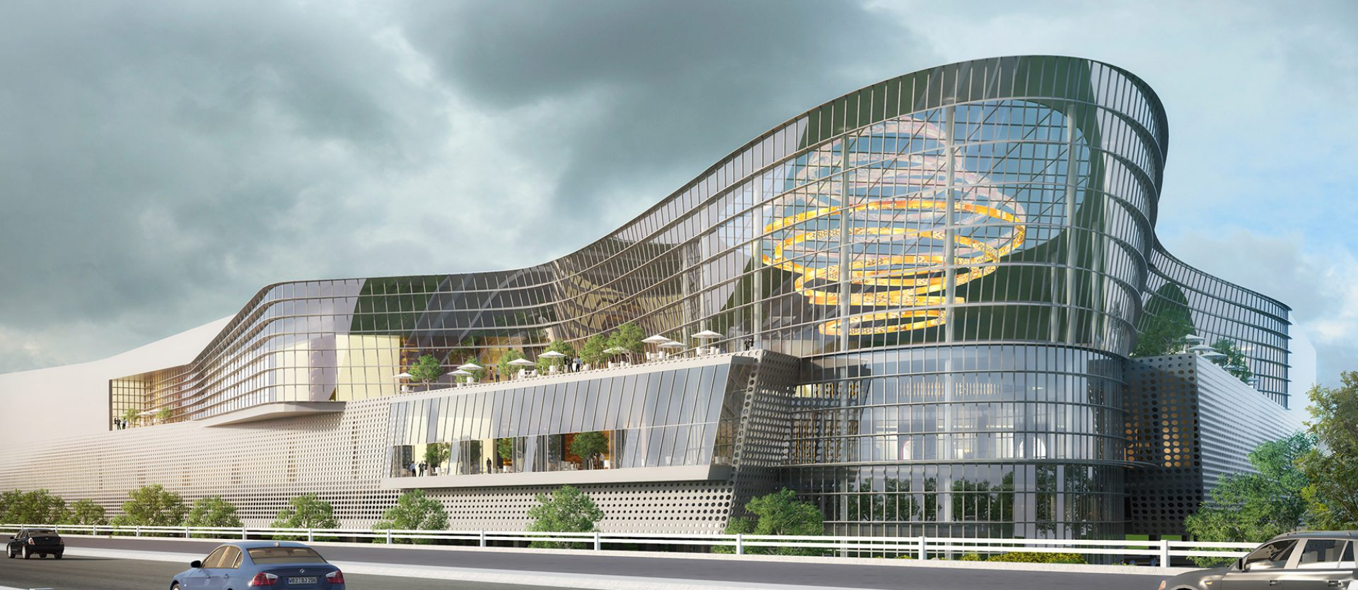 Apre nuovo centro commerciale a EXPO