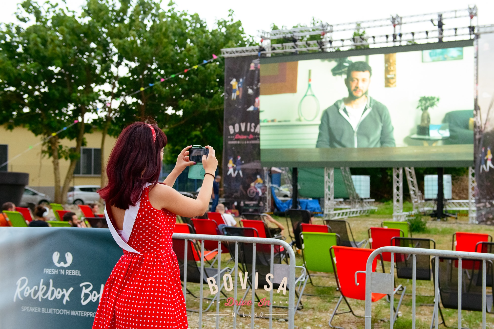 #5 Bovisa Drive-In next event 5-6-7 luglio cinema food truck bar attrazioni milano