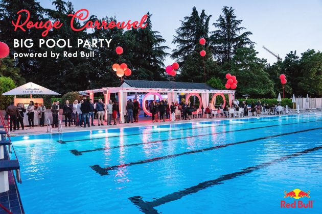 Rouge Carrousel | Pool Party at Harbour Club sabato estate summer Red Bull