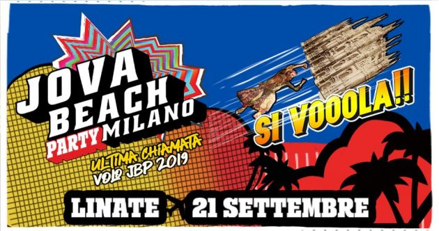 Jova Beach Party - Milano Linate | YOUparti aeroporto show air