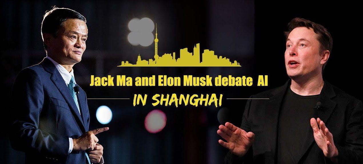 Elon Musk e Jack Ma AI