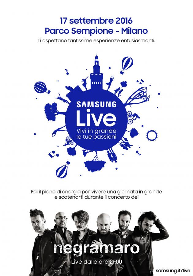 Samsung Live - Vivi in grande le tue passioni