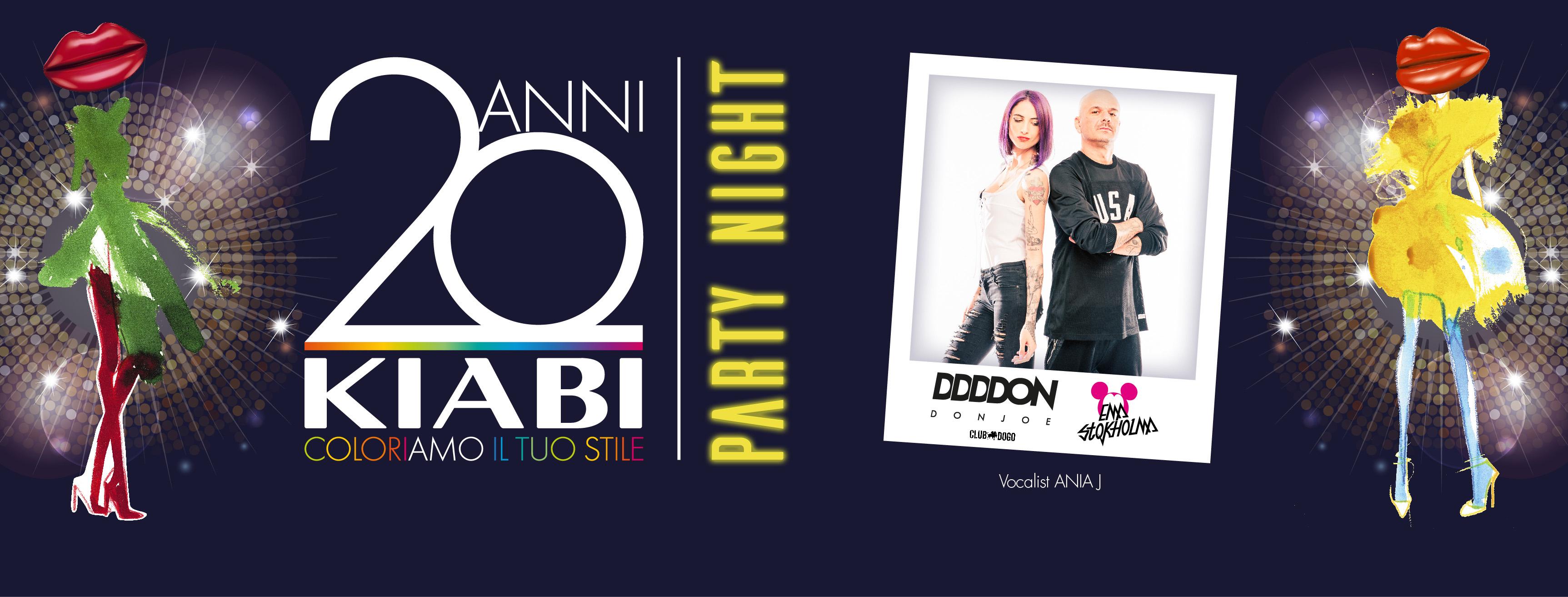 20 ANNI KIABI - Party Night Special Edition