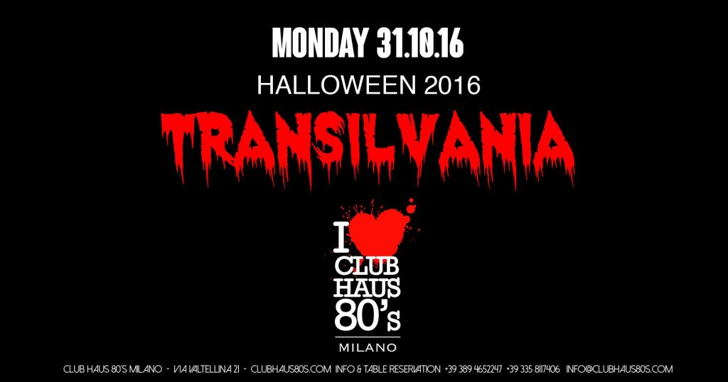 halloween best party in milan