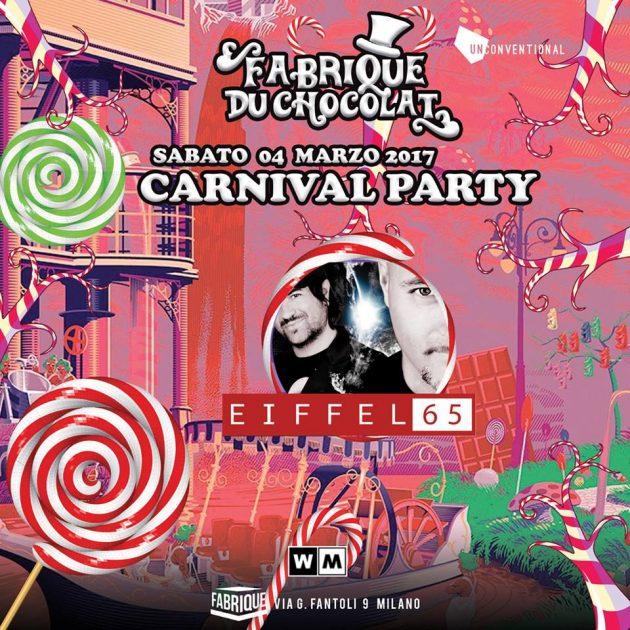Fabrique carnival party disco radio milano effeil 65