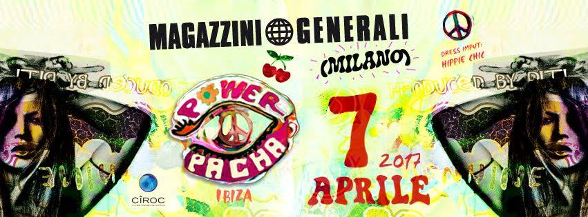 Flower Power Milano youparti design week party special salone del mobile