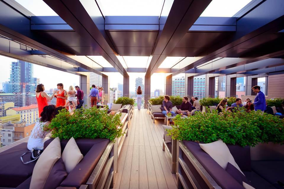Terrazza LAGARE HOTEL milano party youparti eventi