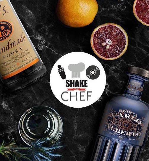 I drink incontrano il cibo e la musica e nasce Shake the Chef