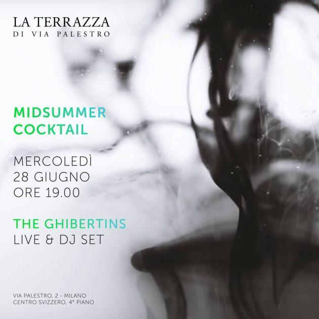 Midsummer Cocktail @terrazzapalestro I The Ghibertins Live