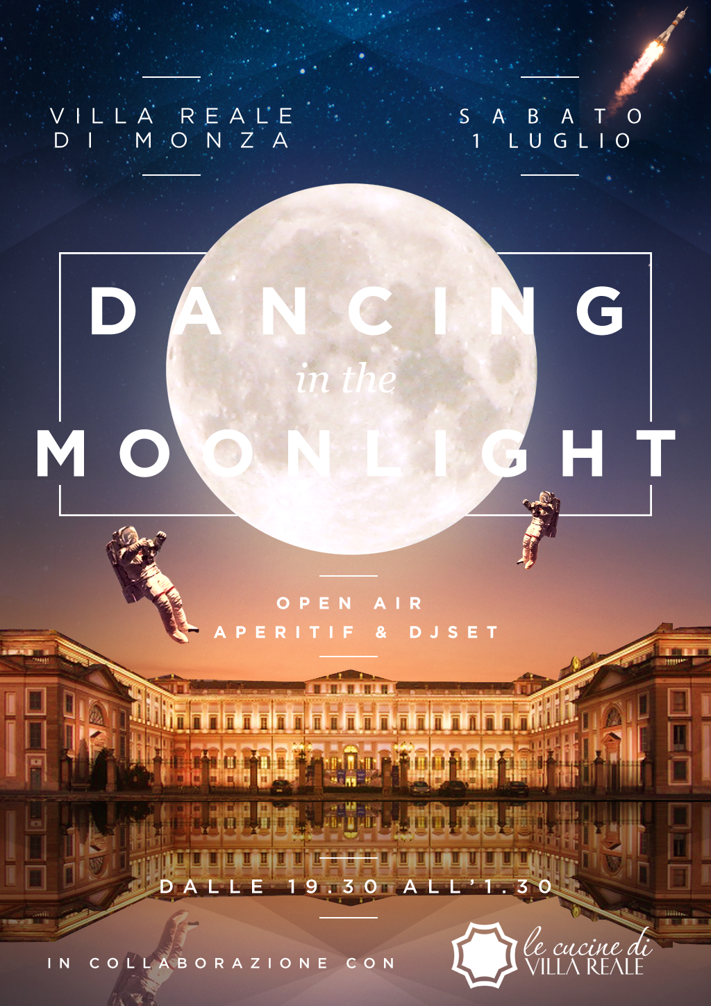 MONZA DANCING IN THE MOONLIGHT VILLA REALE youparti party milano dance night