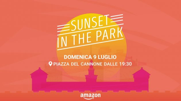 Sunset in The Park by Amazon