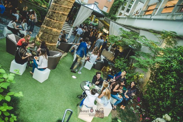Garden Cocktail Party at Hotel Manin   YOUparti