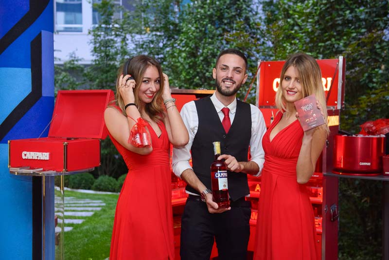 Garden Party by Campari in NYX Milan Hotel   YOUparti