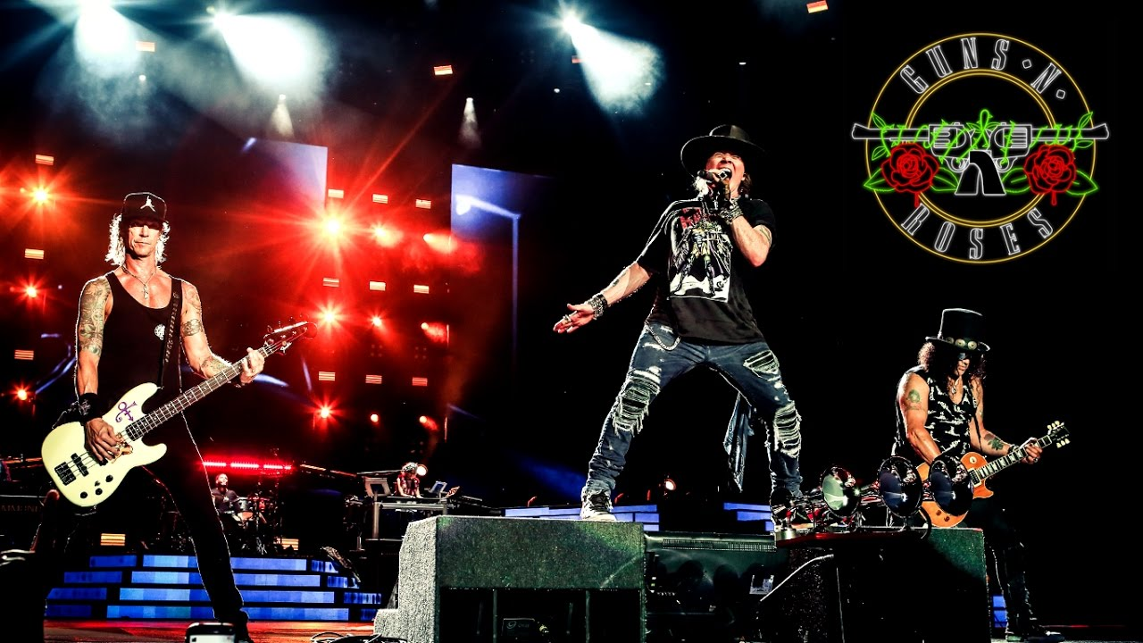 Guns 'n' Roses in Italia