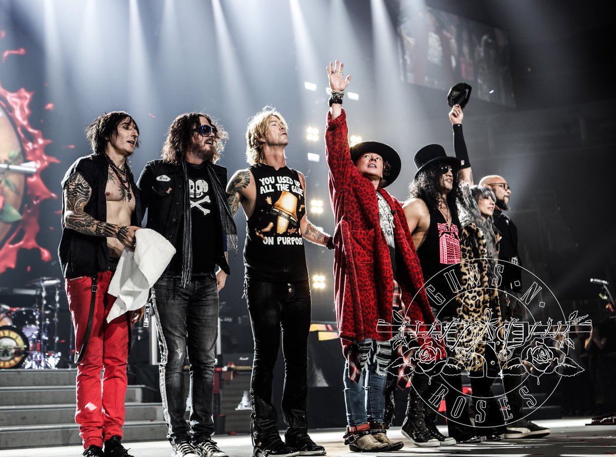 Guns 'n' Roses in Italia a giugno