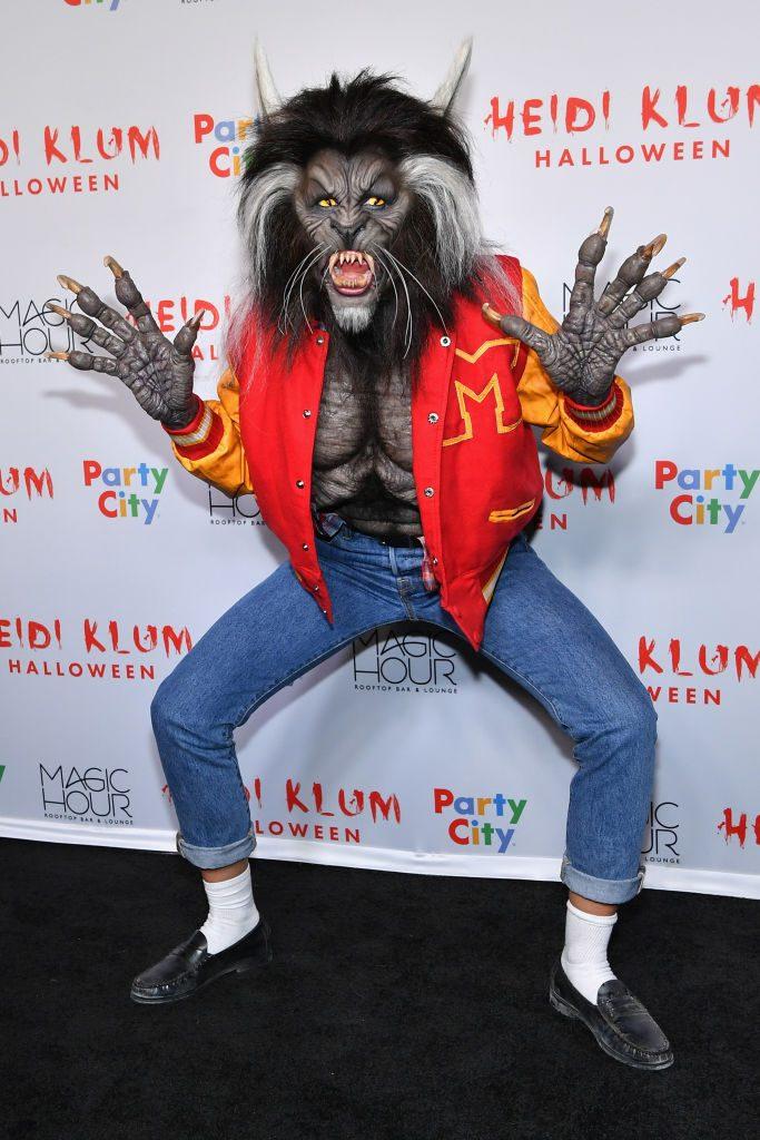 Heidi Klumm Halloween Vip