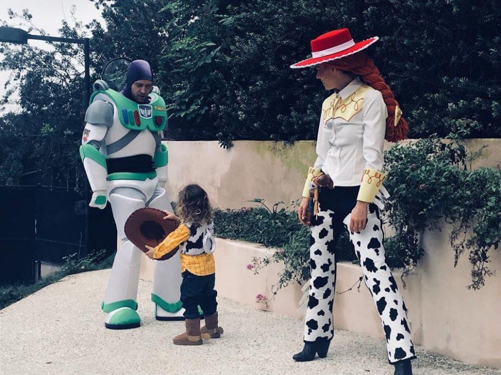 Justin Timberlake e Jessica Biel Halloween Vip