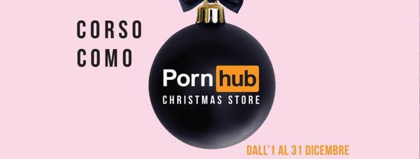 Pornhub chrismas store Milano