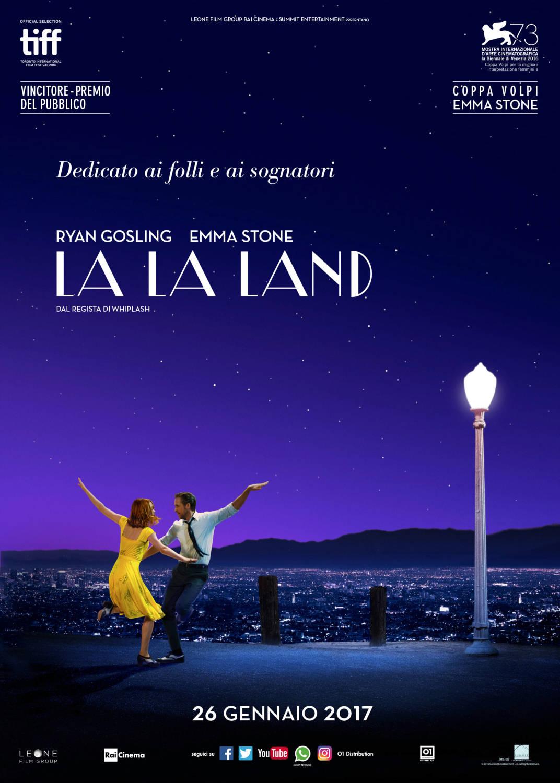 La La Land i film più belli del 2017