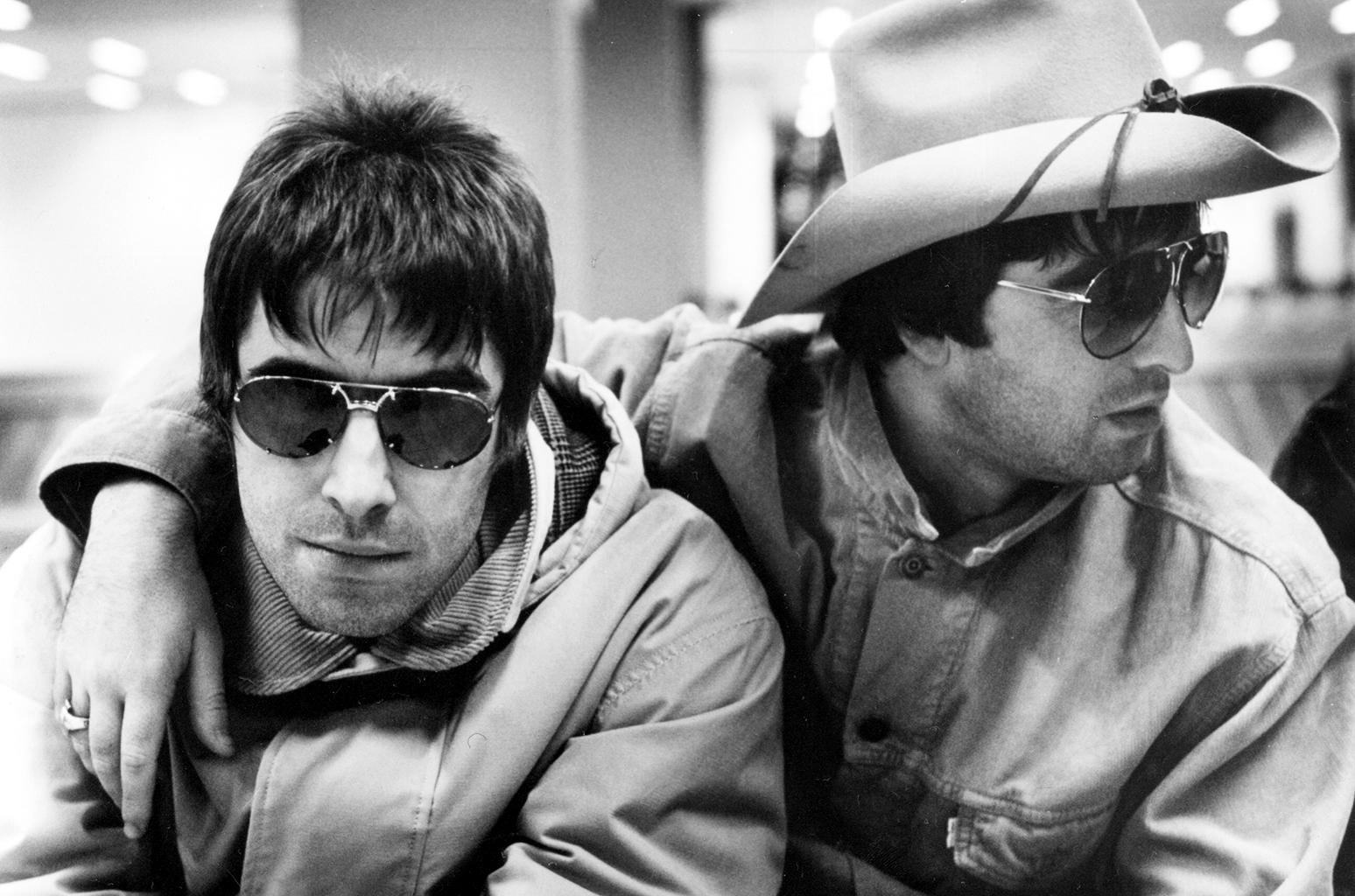 Liam e Noel pace di Natale Oasis