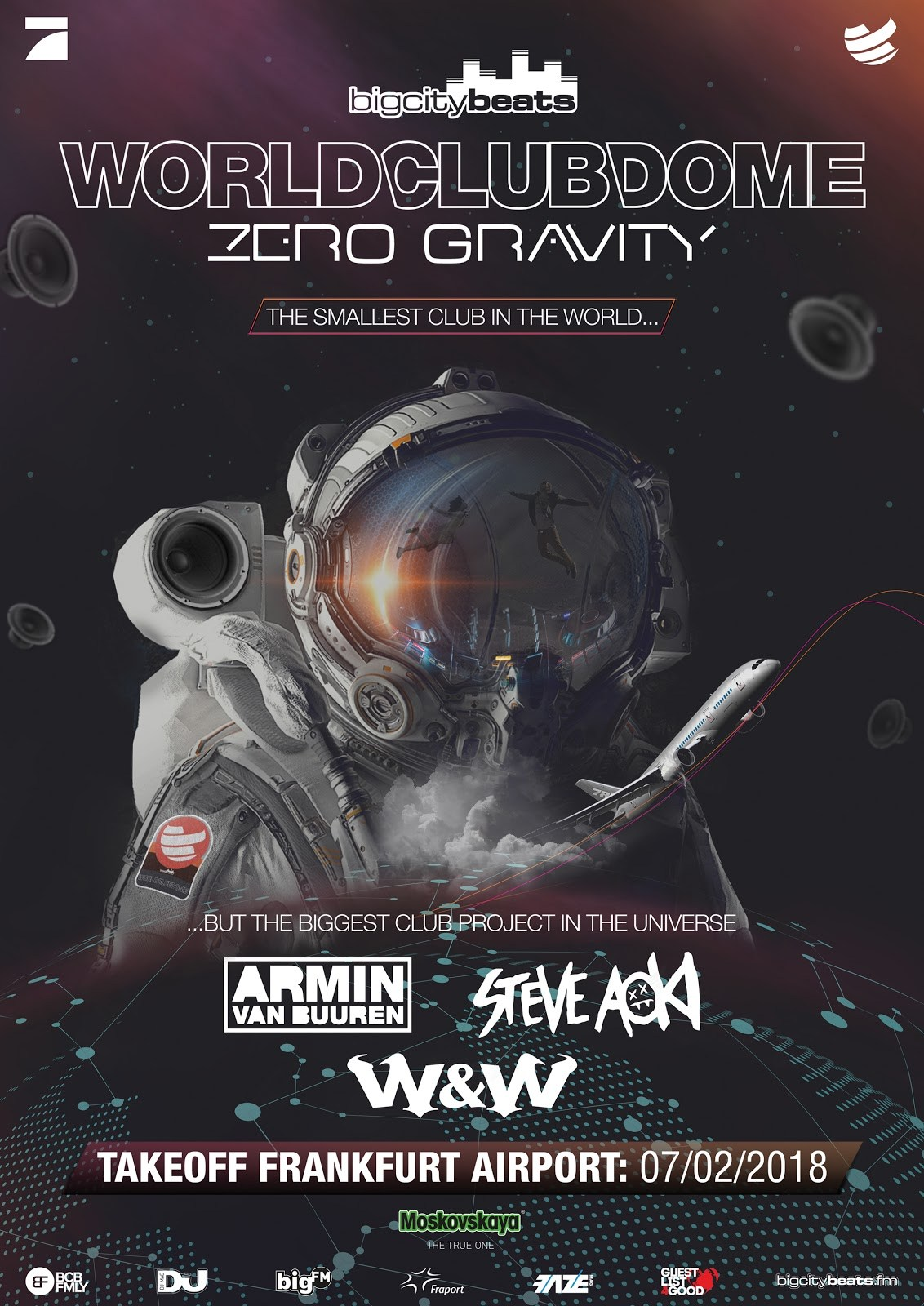 Zero Gravity il party a gravità zero