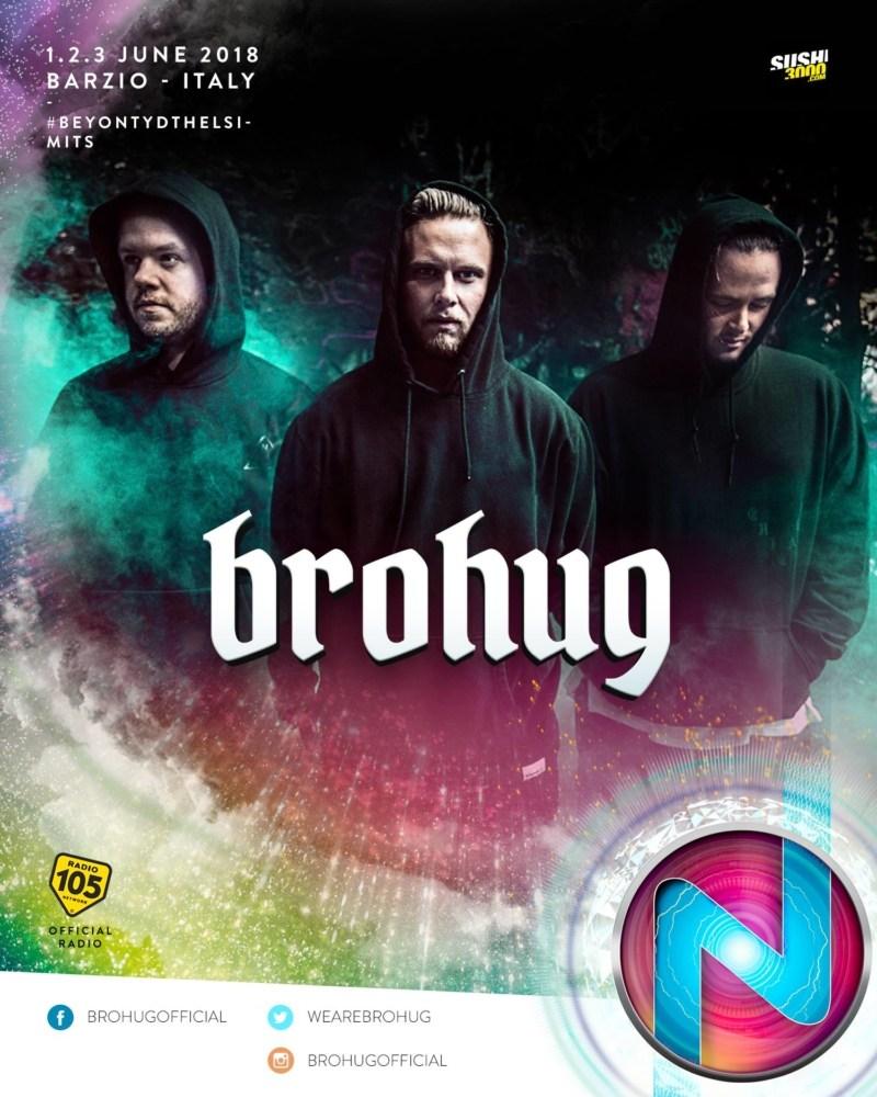 Nameless Music Festival 2018 annunciata la line up Brohug