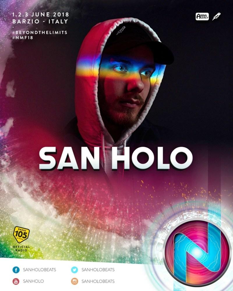 Nameless Music Festival 2018 annunciata la line up San Holo
