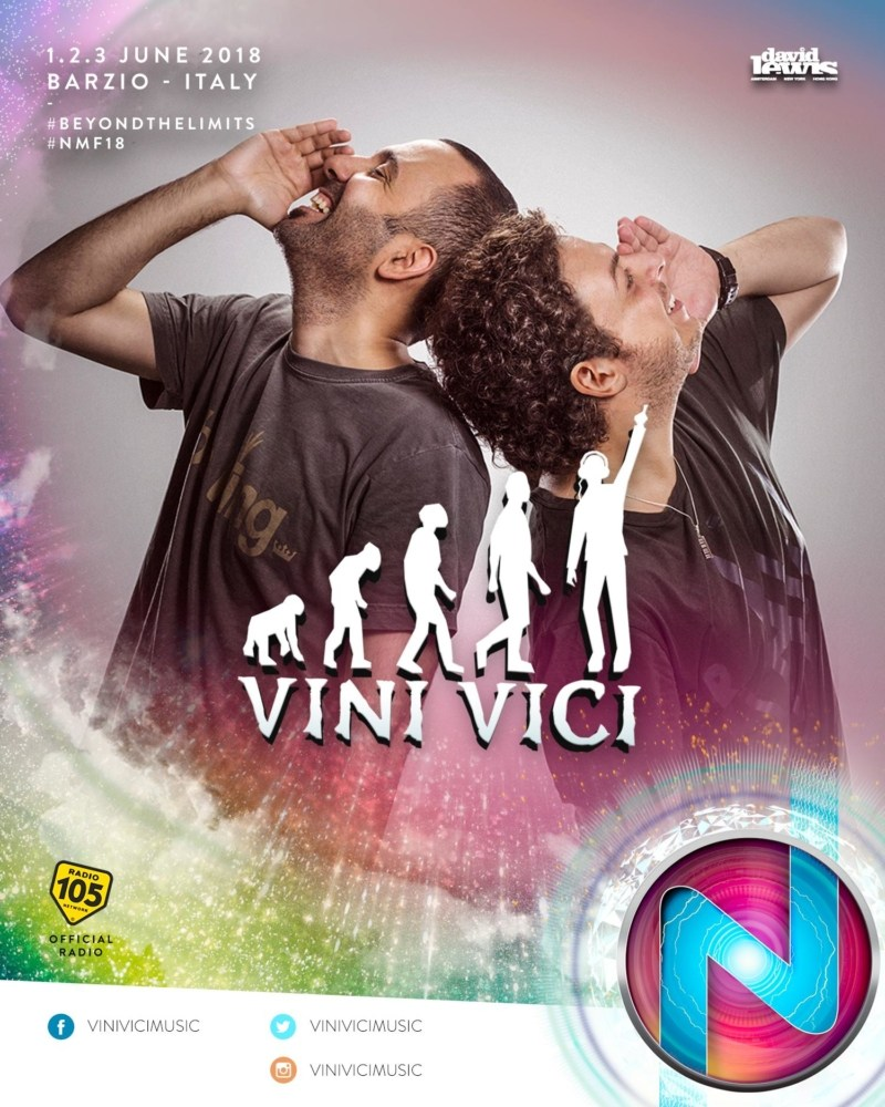 Nameless Music Festival 2018 annunciata la line up Vini Vici