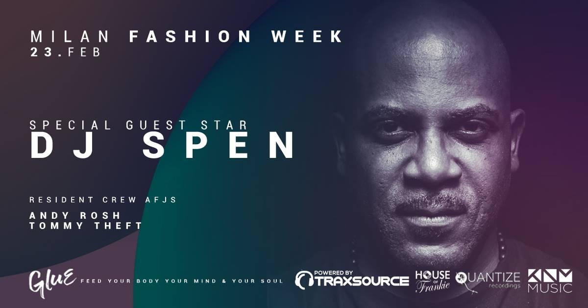 DJ SPEN   Milan Fashion Week YOUPARTI MILANO