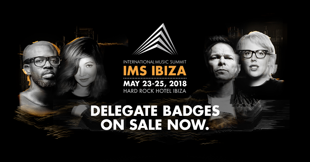 IMS International Music Summit 2018 lineup