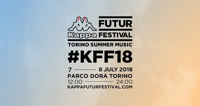 KappaFutur Festival lineup 2018