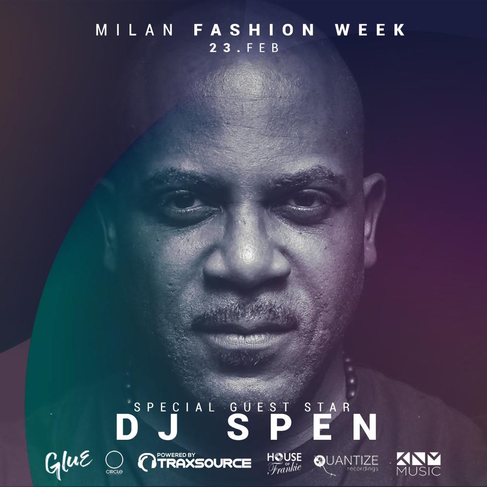 DJ SPEN | Milan Fashion Week