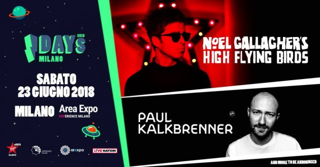 Noel Gallagher's High Flying Birds + Paul Kalkbrenner   YOUparti