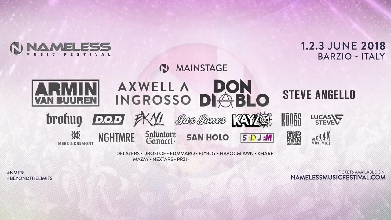 Nameless Music Festival 2018