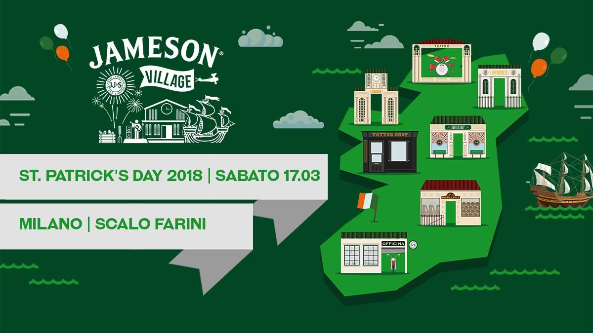 Jameson Village - St. Patrick's Day | YOUparti MILANO san patrizio party evento milano