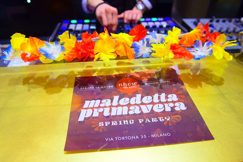 Hotel Cocktail Party - Maledetta Primavera / Spring Party | YOUparti