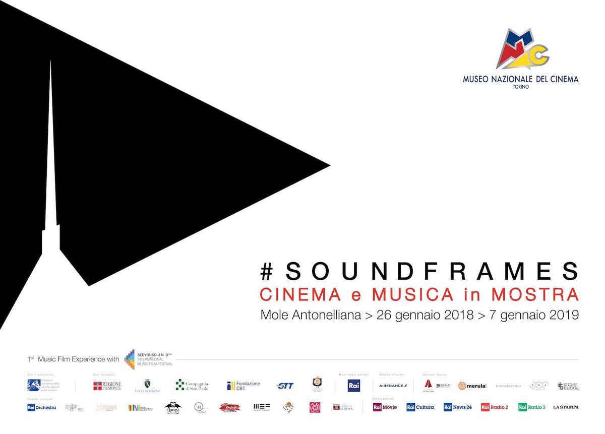 Soundframes Cinema e Musica in mostra a Torino