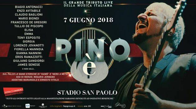 Pino è , il concerto tributo a Pino Daniele