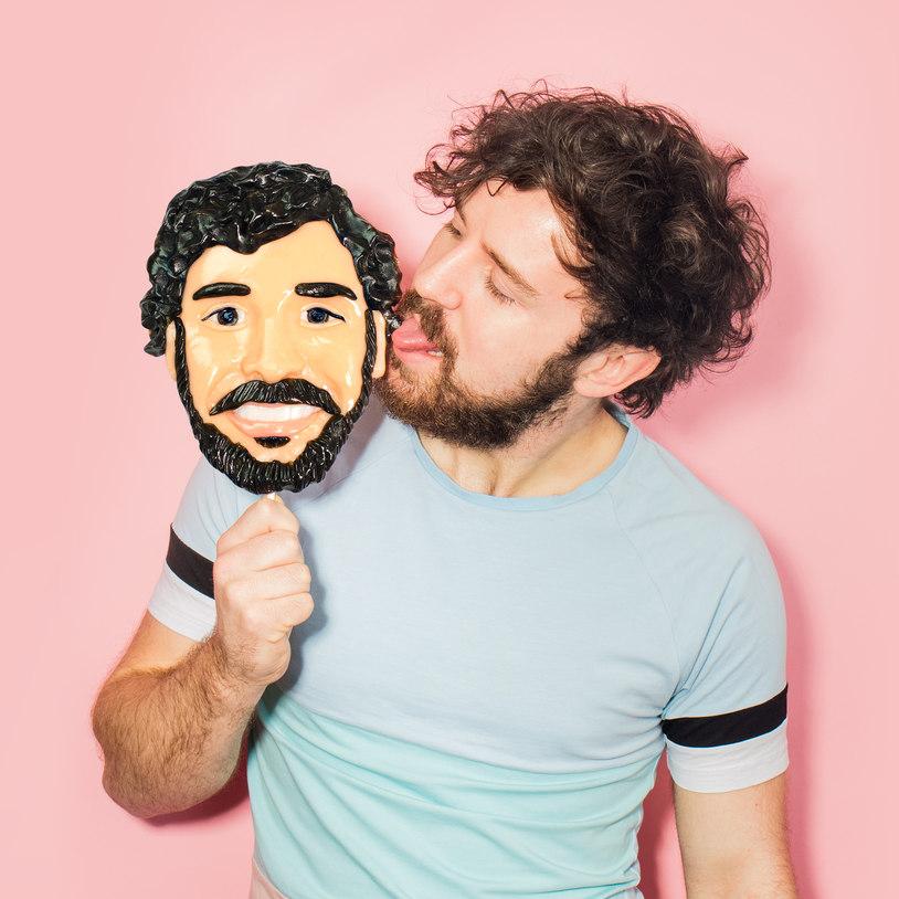 Face Licker il lecca-lecca con la vostra faccia YOUparty