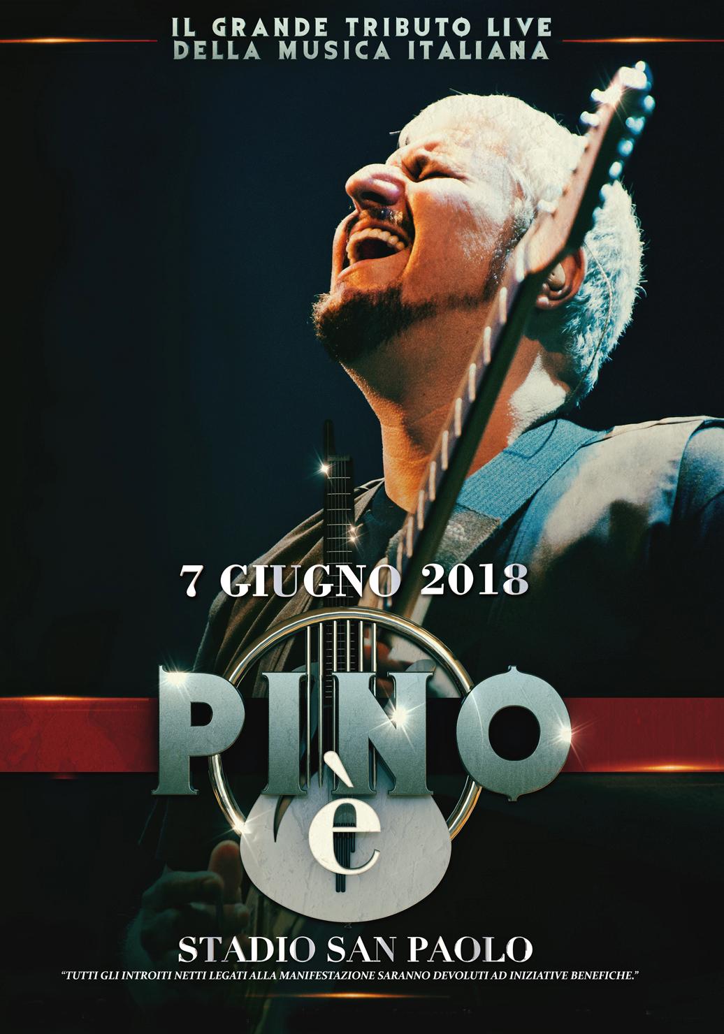 Pino è concerto Pino Daniele NAPOLI