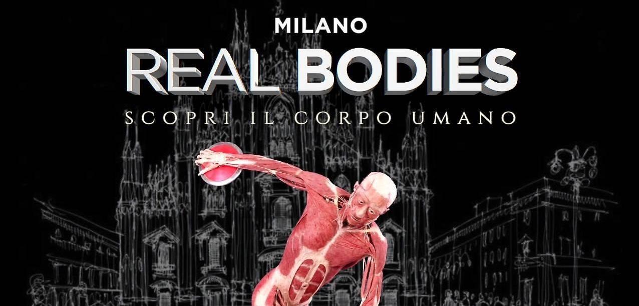 Real Bodies torna a Milano speciale Leonardo Da Vinci