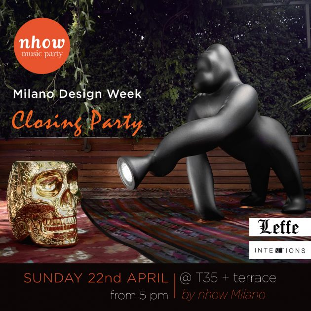 Official Closing Party Design Week / NHow Hotel | YOUparti HOTEL nhow milano salone del mobile party